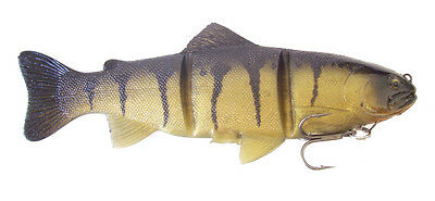 "Castaic Platinum Swimbait Floater Yellow Perch 8"" (20 Cm)"