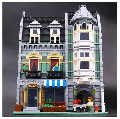 15008 Green Grocer Building Blocks 2462 Pcs Lepin Compatible With Lego
