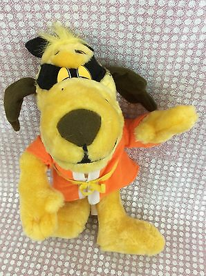 Hanna-Barbera HONG KONG PHOOEY dog Plush stuffed animal yellow belt karate 2001