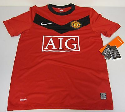 Maillot de foot / Voetbalshirt - Manchester United Nike Rouge/ Rood - T/ M Small