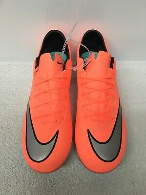 NEW Nike Jr Mercurial Vapor X 10 FG Soccer Cleats Boots YOUTH KIDS 651620 803 6Y