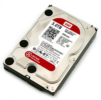 Disque dur interne western digital red 3.5'' SATA III 3 To 5400 tours neuf