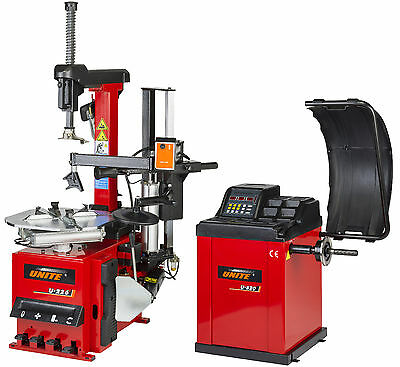 Tyre Equipment Package Fully Automatic Tyre Changer / Semi Auto Wheel Balancer