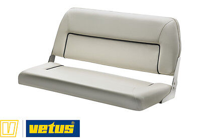 Banquette Luxe 2 Places Rabattable Blanc Vetus Firstclass Chtbsw