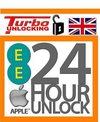 UK Apple iPhone 6 6S Permanent Factory Unlocking Service For EE NEXT DAY