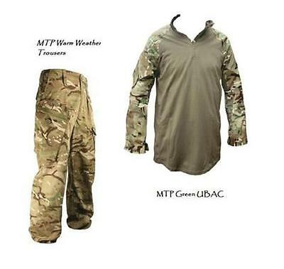 Mtp Camouflage Trousers & Mtp Green Ubac - Grade 1 - Various Sizes -British Army