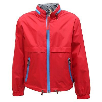 5620R giacca antivento FREEDOMDAY RED reversibile jacket kid