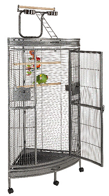 Liberta Discovery 2Nd Edition Premium Corner Parrot Cage