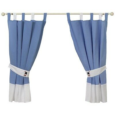 Little Soldier Curtains & Tiebacks for Baby Nursery/Childs Bedroom