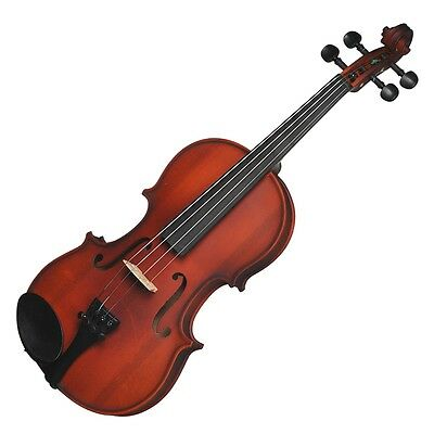 New Steinhoff 1/2 Size Beginner Student Violin with Case (Natural Gloss)