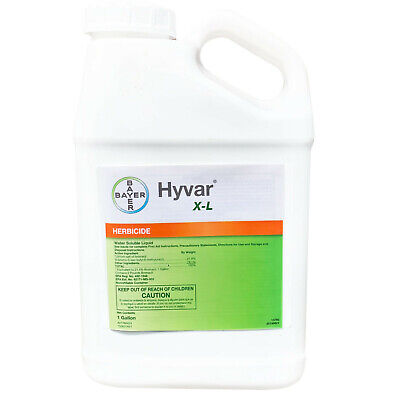 Bayer Hyvar X-L Herbicide 1 Gallon Weed and Brush Herbicide Vegetation Killer