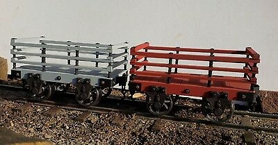 Slate Wagon RTR 7/8ths 1:13.7 Scale for Accucraft Hunslet