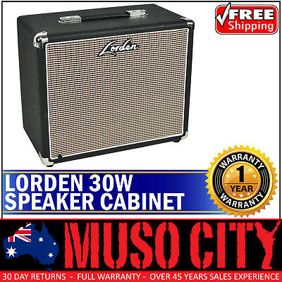 New Lorden Electric Guitar Amplifier Cabinet for Amp Head Black