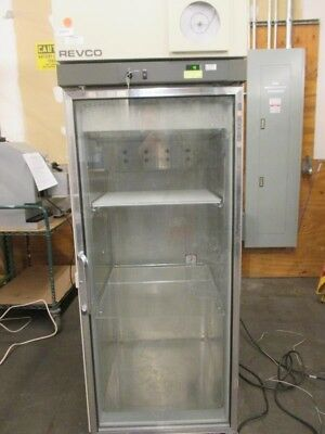 REVCO Model REC2304A14 Upright Refrigerator - Cools to 4C, with key, 2 shelves