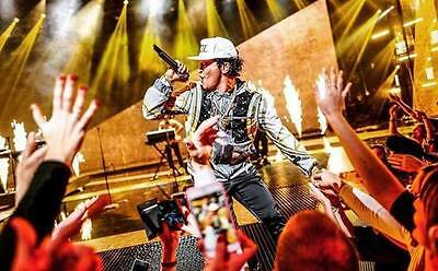 2x Bruno Mars tickets London 02 arena Friday  21/4/17 STANDING Sold Out