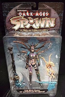Spawn 11 Dark Ages THE SKULL QUEEN. McFarlane Toys spawn.com New! Rare!