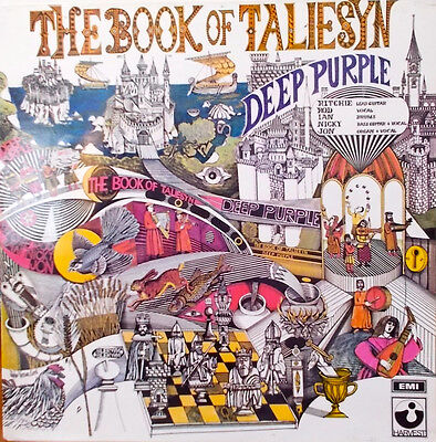 Deep Purple  Book Of Taliesyn 1968. Shvl 751 Harvest
