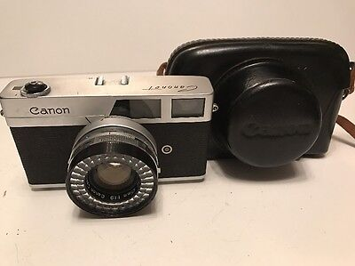 CANON CANONET 45mm + CASE - VINTAGE CAMERA LOT 3