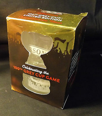 Grey Cup 100th Game Commemorative Glass In original Box - Gibson's Finest Rye