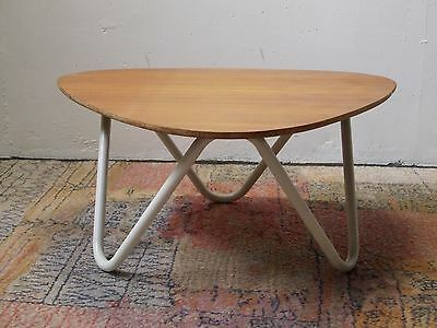 table basse 1950 vintage palissandre 50's hitier