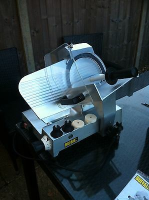 """Buffalo Meat Slicer 220mm Blade 8 3/4""""  - CD277  120W Catering"""