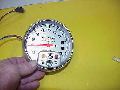 """AutoMeter 5"""" Pro Comp 10,000 RPM Memory Tachometer for Standard Ignition #4494R2"""