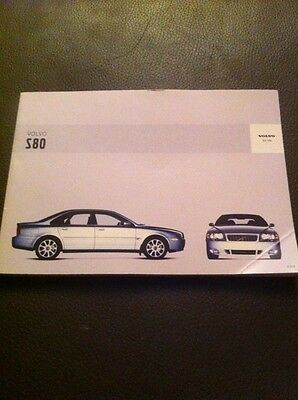 2003 Volvo S80 Owners Manual
