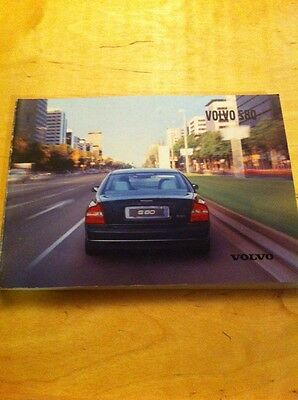 2002 Volvo S80 owners Manual