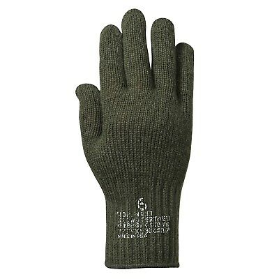 WOOL GLOVES  US MADE IN USA Olive Black Tan Grey sizes S,M,L,XL,2X