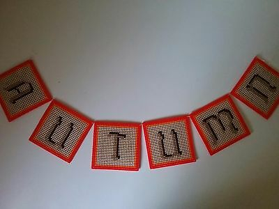 """Handcrafted """"autumn Swag"""" New"""