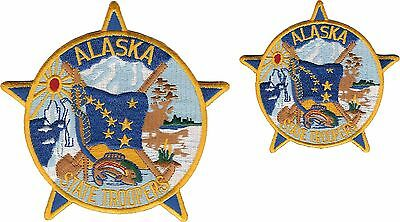 Alaska State Troopers Shoulder Patch and Hat Patch - New