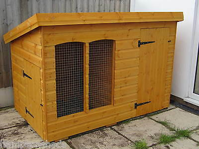 dog kennel and run from £219