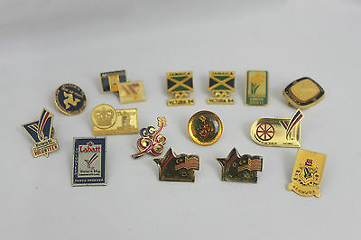 Lot of 15 Victoria '94 Pins Collection of Commonwealth Games Pins