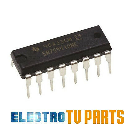 4 Channel Half-H SN754410NE DIP-16 Integrated Circuit from Texas Instruments