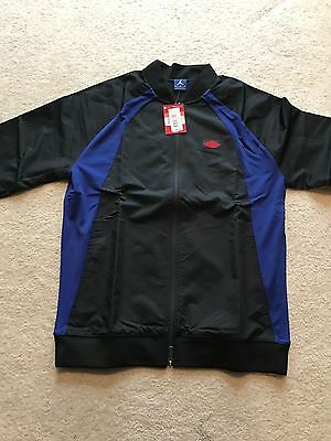 2a51fea317b Air Jordan 1 Wings Jacket And Pants Tracksuit Size L - Banned Satin Bred  Royal
