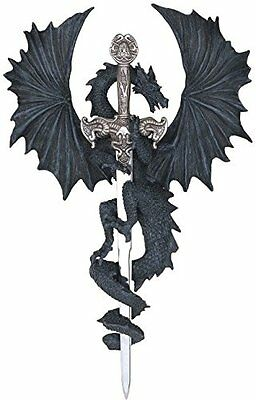 George S. Chen Imports SS-G-71221 Dragon Collection with Sword Collectible