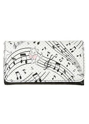 Disney Aristocats Marie Quilted Trifold Flap Wallet New With Tags!