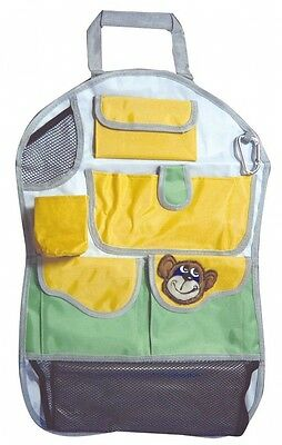 Car Travel Organiser And Rear Seat Protector Kids. Shipping Included