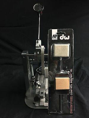 Drum Workshop machined direct drive single pedal (comes with beater)
