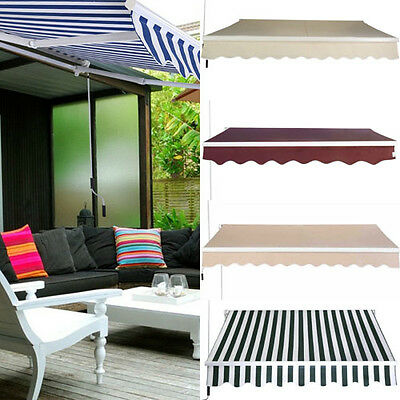 Outdoor Sun Protection Shade Patio Tent Rain Canopy Manual Foldable 3x2.5M