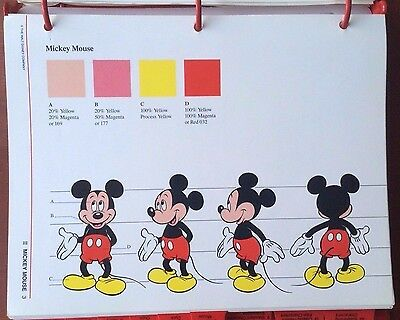 Disney Character Licensing Guide -  Guidelines for Character Usage 1986