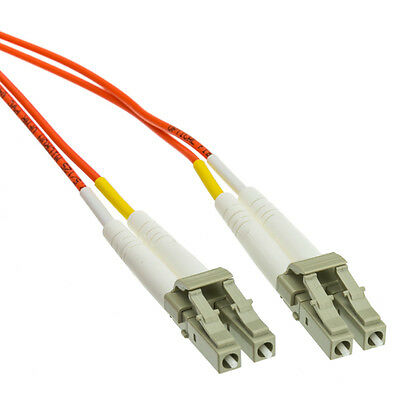 3 Meter Multi-mode LC to LC Fiber Optic Cable