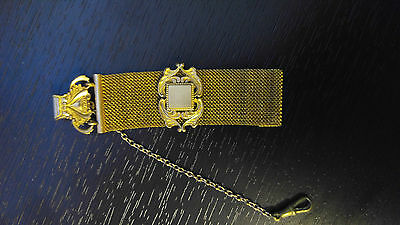 Antique Pocket Watch Chain / Fob Gold Filled Victorian