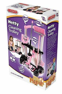 Casdon Hetty Cleaning Trolley - Little Helper Role Play Kids Toy - Brand New