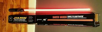 Star Wars Darth Vader FX Lightsaber Master Replicas 2005-ENGLISH & FRENCH BOX!!!