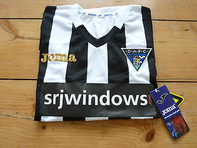 DUNFERMLINE ATHLETIC FC SHIRT XL home football top 2015/16 SOCCER JERSEY DAFC