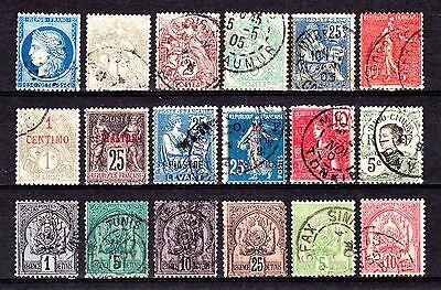 FRANCE & COLONIES 1900-54 Collection Used 2 Scans.