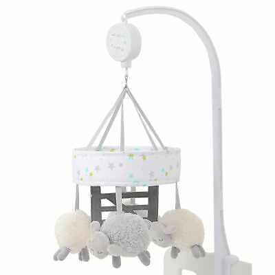Silvercloud Baby / Child / Kid Counting Sheep Nursery Cot Mobile