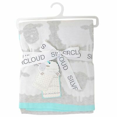 Silvercloud Counting Sheep Baby / Child / Kid Pram/ Moses Blanket
