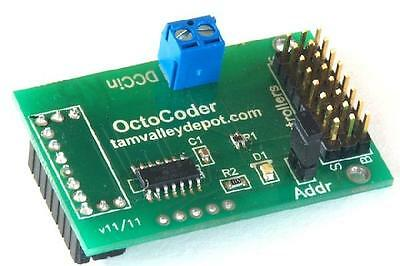 Tam Valley Depot Octocoder DCC for the Octopus III Servo Driver